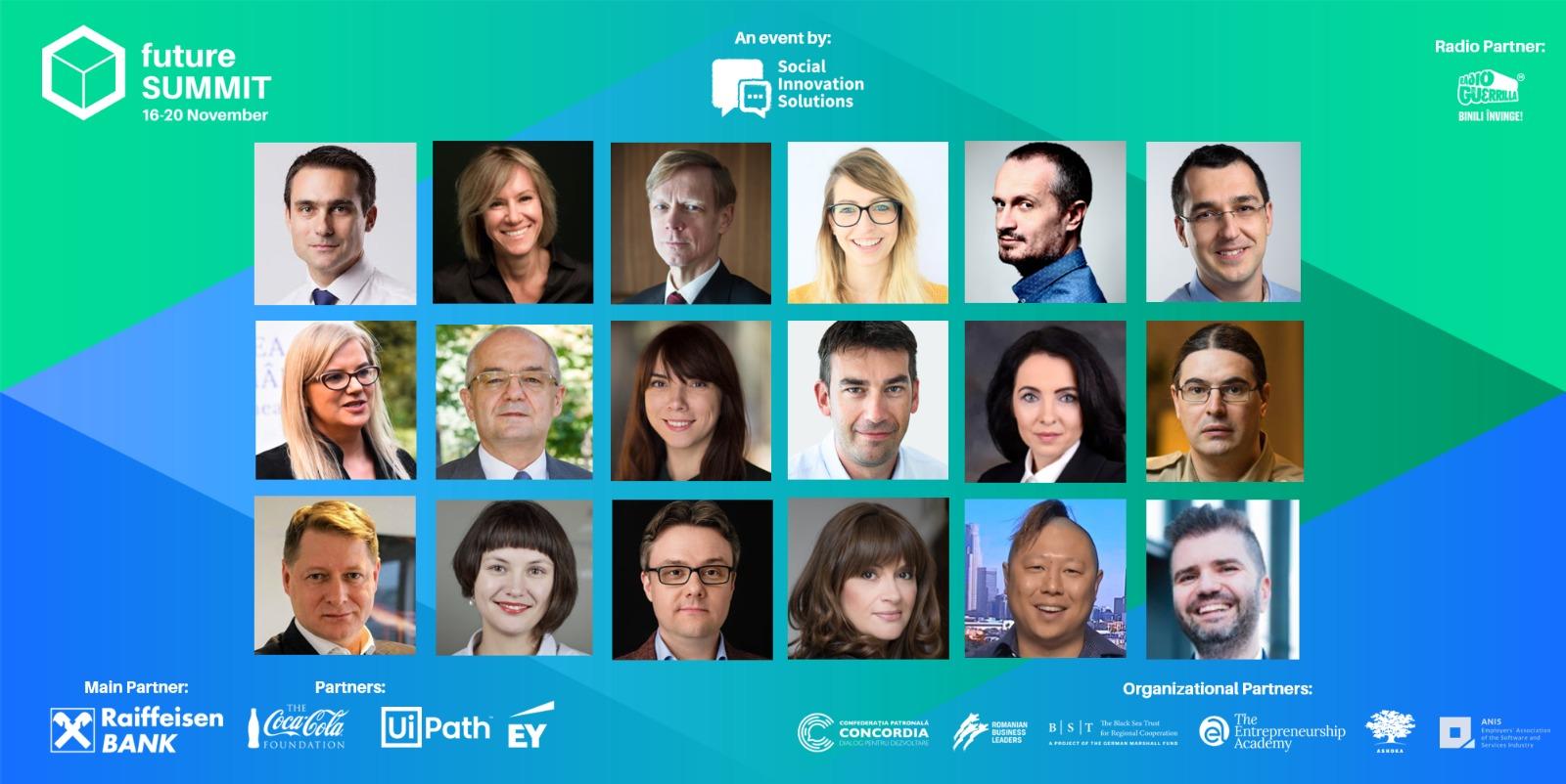 Viitorul vine în România. Peste 75 de speakeri internaționali la Future Summit 2020