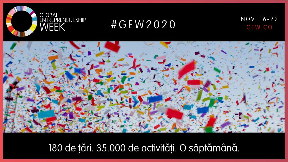 Săptămâna Globală a Antreprenoriatului susținută în România de Junior Achievement, gazda locală a inițiativei Global Entrepreneurship Network (GEN)