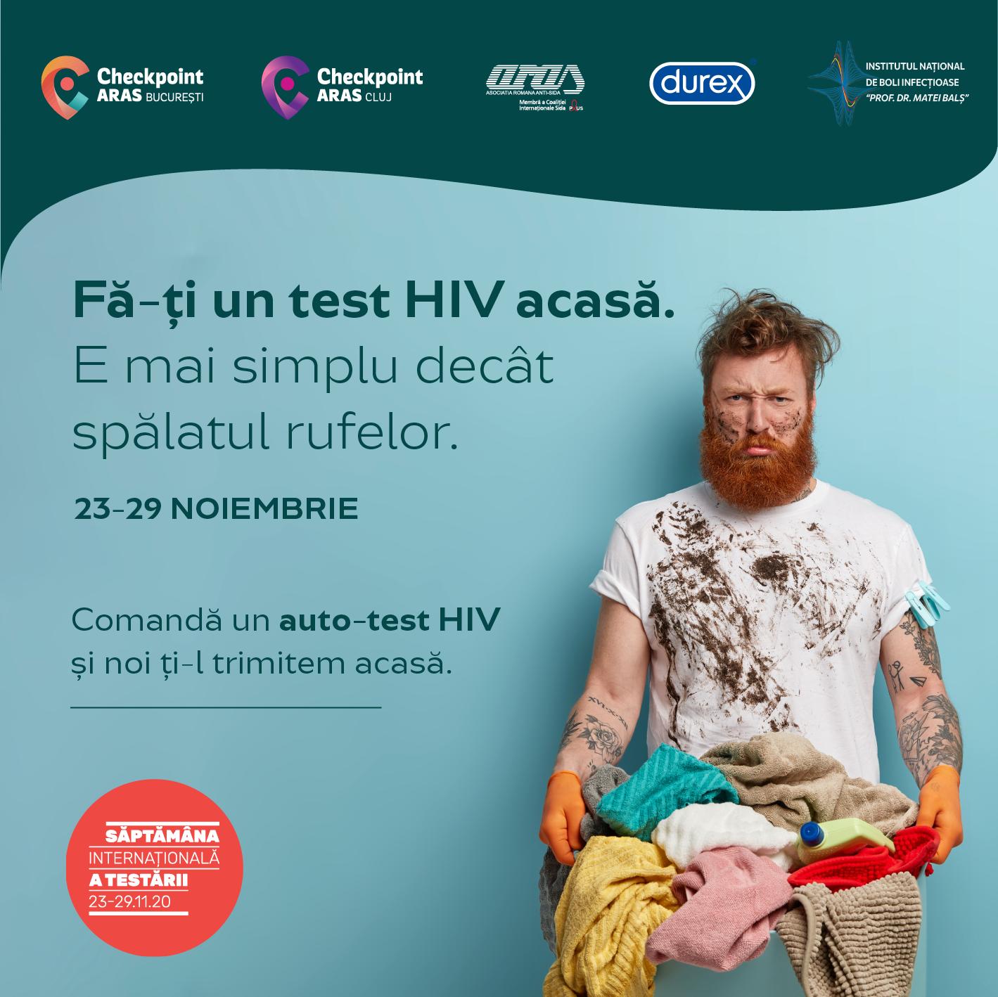 ARAS participă la prima ediție a Săptămânii Internaționale a Testării