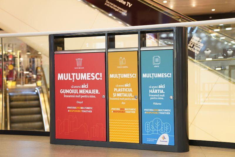 """Promenada Mall demarează campania """"Natura unui MULȚUMESC!"""", prima inițiativă de colectare selectivă a deșeurilor a centrului comercial"""