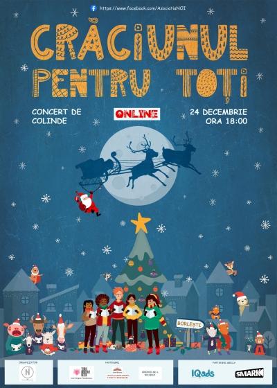 Asociația NOI – Dezvoltare, Progres, Comunitate lansează evenimentul Crăciunul pentru Toți – Concert de Colinde Online