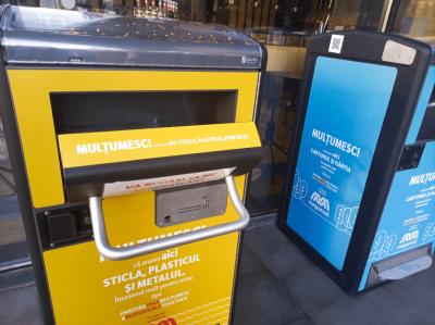 Implementarea tehnologiei inteligente de reciclare BigBelly în mall