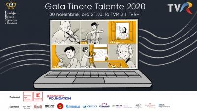 Gala Tinere Talente, ediția 2020 – emisiune eveniment dedicată tinerilor artiști  susținuți de Fundația Regală Margareta a României