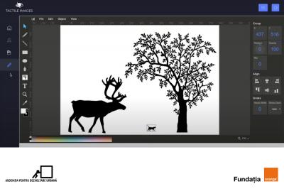 Image Creator: primul software din lume ce realizează desene interactive pentru copiii nevăzători
