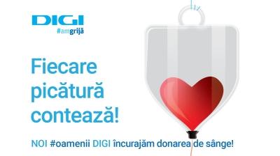 Continuă campania de încurajare a donării de sânge