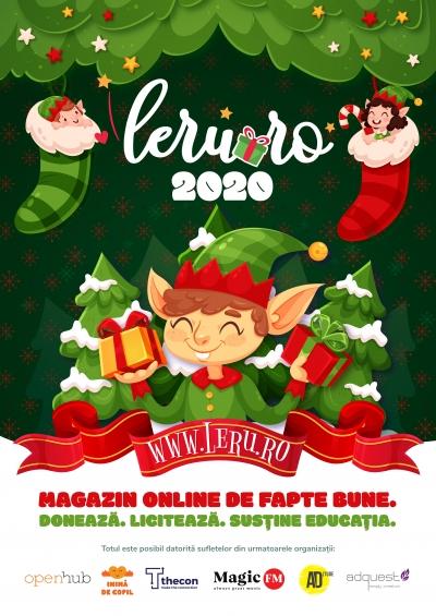 Magazin online – licitații și achiziții de fapte bune Leru.ro