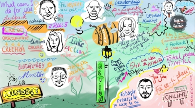 Tinerii în Arenă sau cum un eveniment online poate transforma vieți