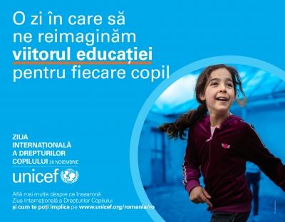 UNICEF îndeamnă la acțiune pentru a preveni pierderea unei generații, în condițiile în care COVID-19 amenință să provoace daune ireversibile la nivelul educației, al nutriției și al bunăstării copiilor