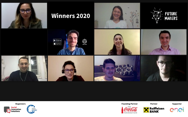 Juriul Future Makers a desemnat start-up-urile câștigătoare ale premiilor de 20.000 de euro