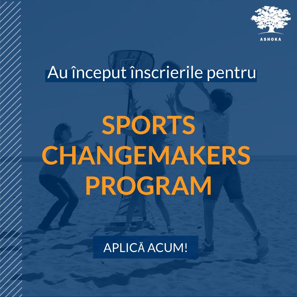 Ashoka România și Decathlon lansează înscrierile pentru Sports Changemakers Program, o inițiativă dedicată celor care rezolvă probleme sociale prin sport