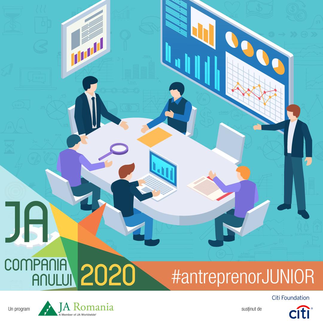 Junior Achievement România continuă implementarea în licee a celui mai amplu program de antreprenoriat pentru elevi