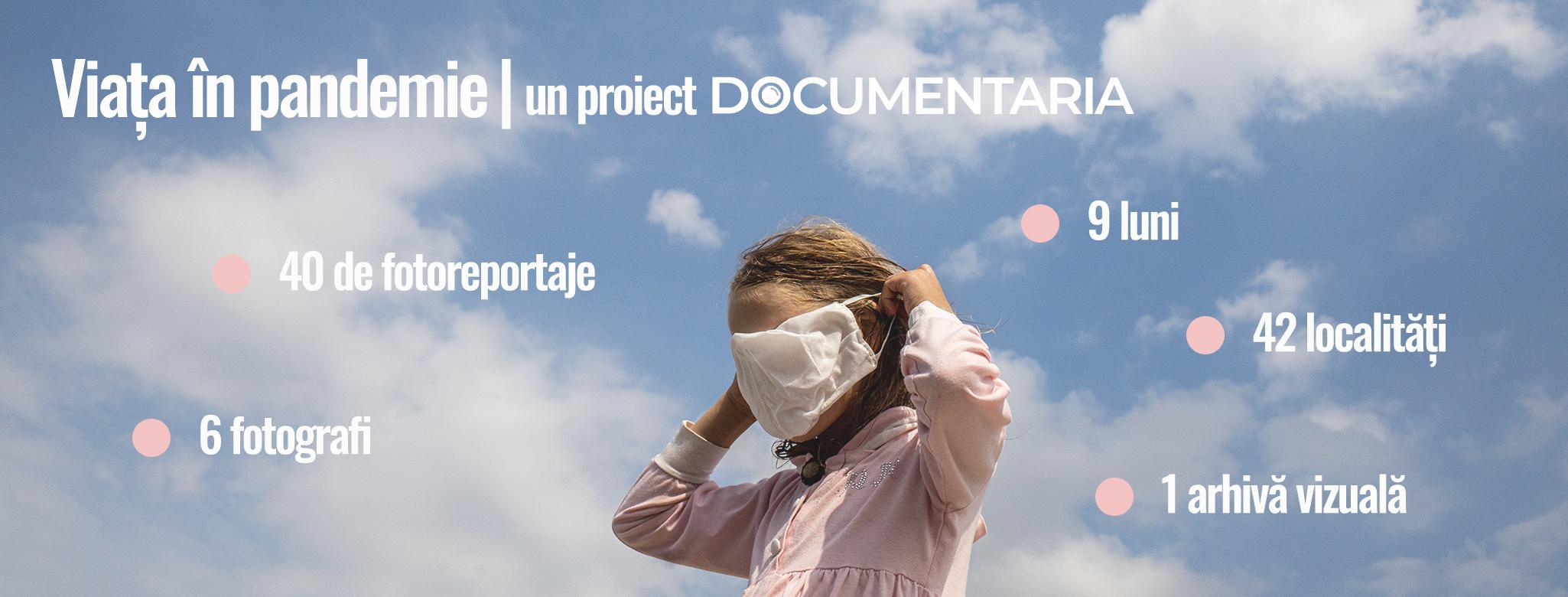 """9 luni, 42 localități, 6 fotografi și un proiect vizual: """"Viața în pandemie"""""""