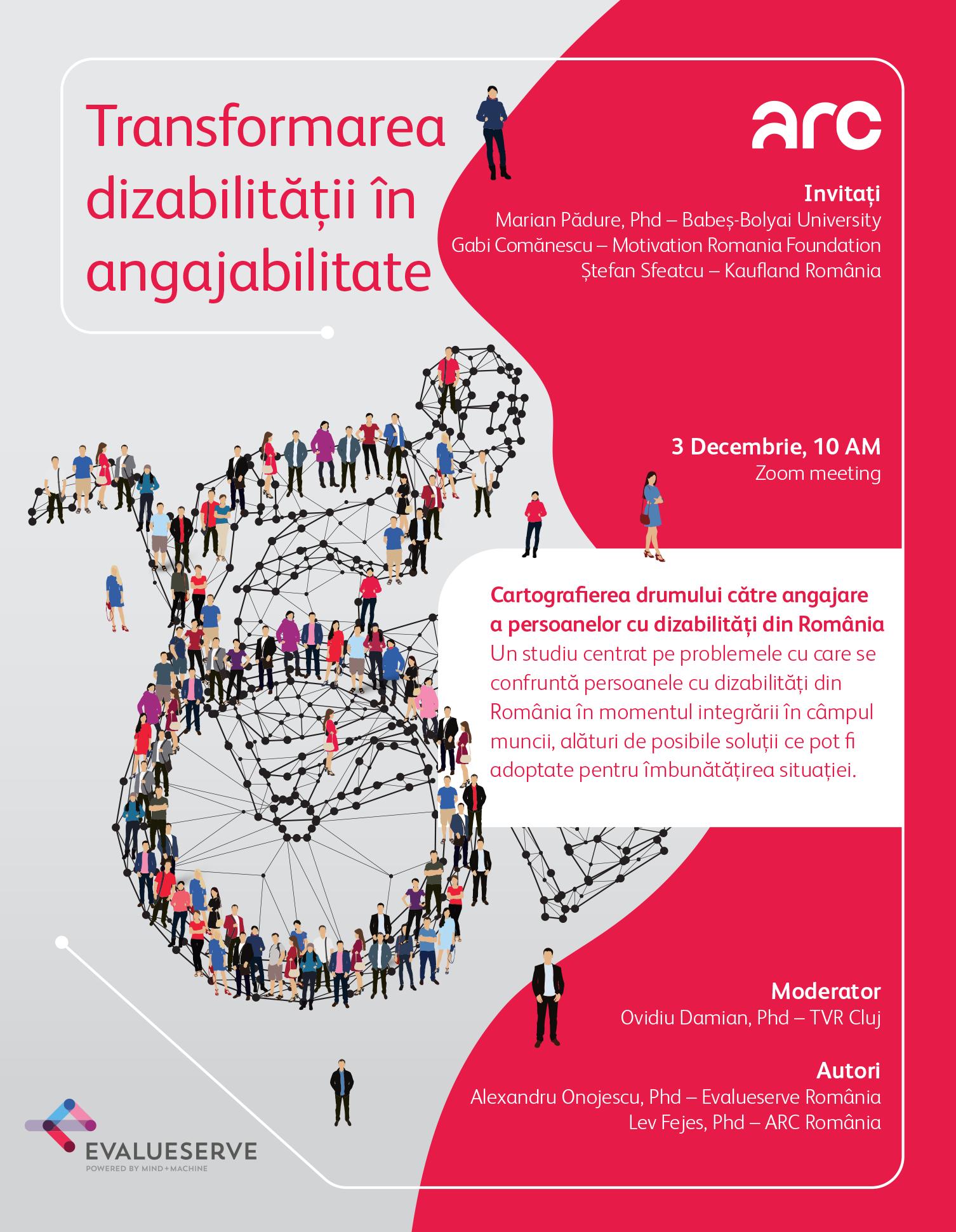 Lansarea studiului Transformarea dizabilității în angajabilitate