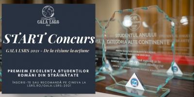 """Liga Studenților Români din Străinătate (LSRS) lansează concursul """"Premiile LSRS pentru Excelență Academică în Străinătate"""""""