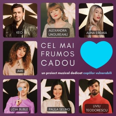 """""""Cel mai frumos cadou"""" pentru cei mai vulnerabili copii ai României"""
