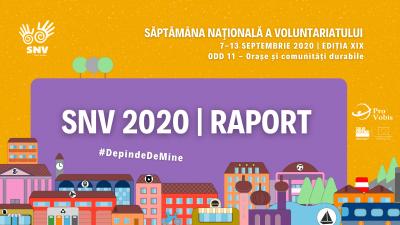 Peste 5000 de ore de voluntariat într-o săptămână. Bilanț SNV 2020