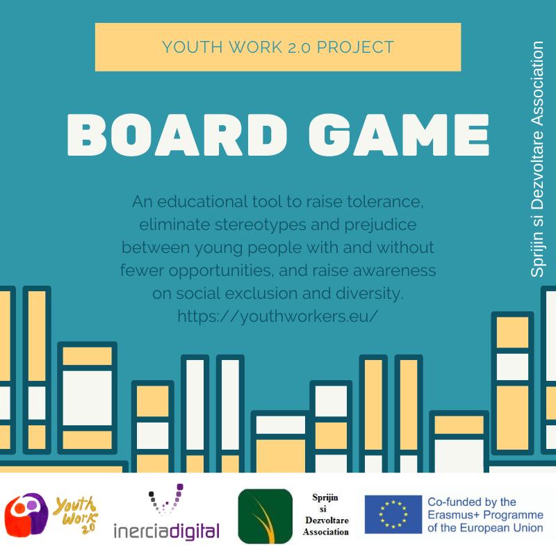 Un nou Boardgame pentru activități non-formale