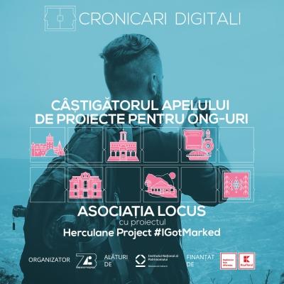 Asociația Locus câștigă apelul de proiecte pentru ONG-uri oferit în cadrul campaniei Cronicari Digitali 2020