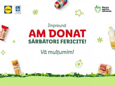 Produse donate pentru peste 5000 de persoane din comunități vulnerabile