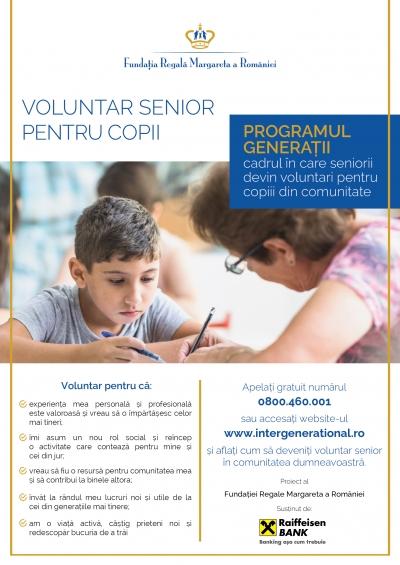 """Programul """"Generații – Centrul Comunității"""" continuă în 4 centre sociale din București și județele Galați și Covasna"""