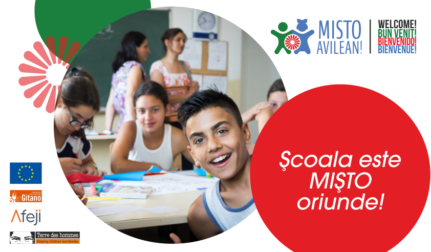 Copii și profesori din trei țări s-au unit pentru a lupta împotriva  discriminării în școli din România, Franța și Spania