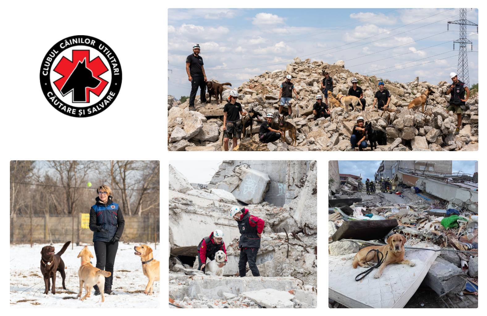 Clubul Câinilor Utilitari înseamnă voluntari care se antrenează împreună cu câinii lor pentru a servi interesului comunității