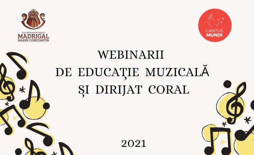 Corul Madrigal și Cantus Mundi lansează o nouă ediție a  Cursurilor online de Educație muzicală și dirijat coral