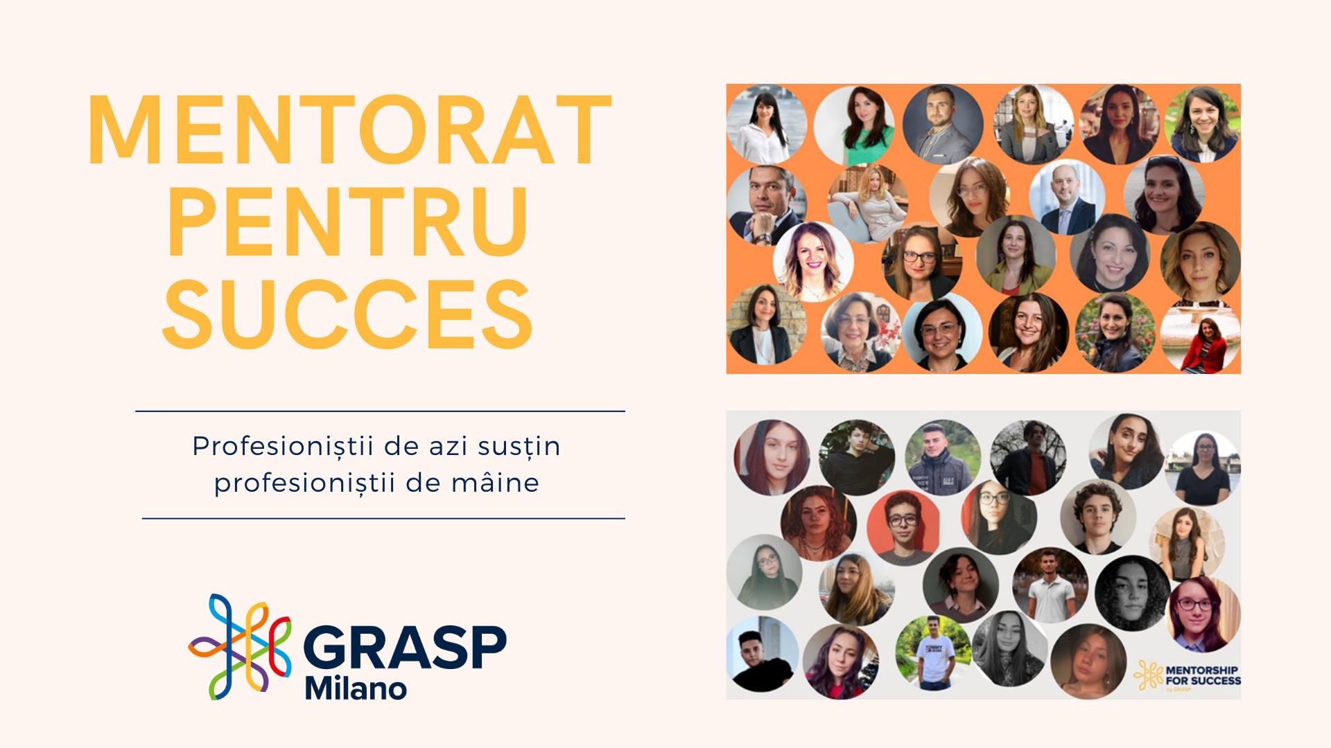 Profesioniștii de azi susțin profesioniștii de mâine -  sprijin și orientare în carieră pentru 22 elevi de liceu români din Italia și România