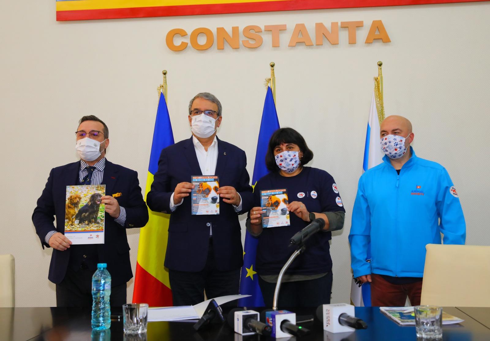 Protocol de colaborare ce vizează gestionarea eficientă a situației animalelor abandonate din Constanța