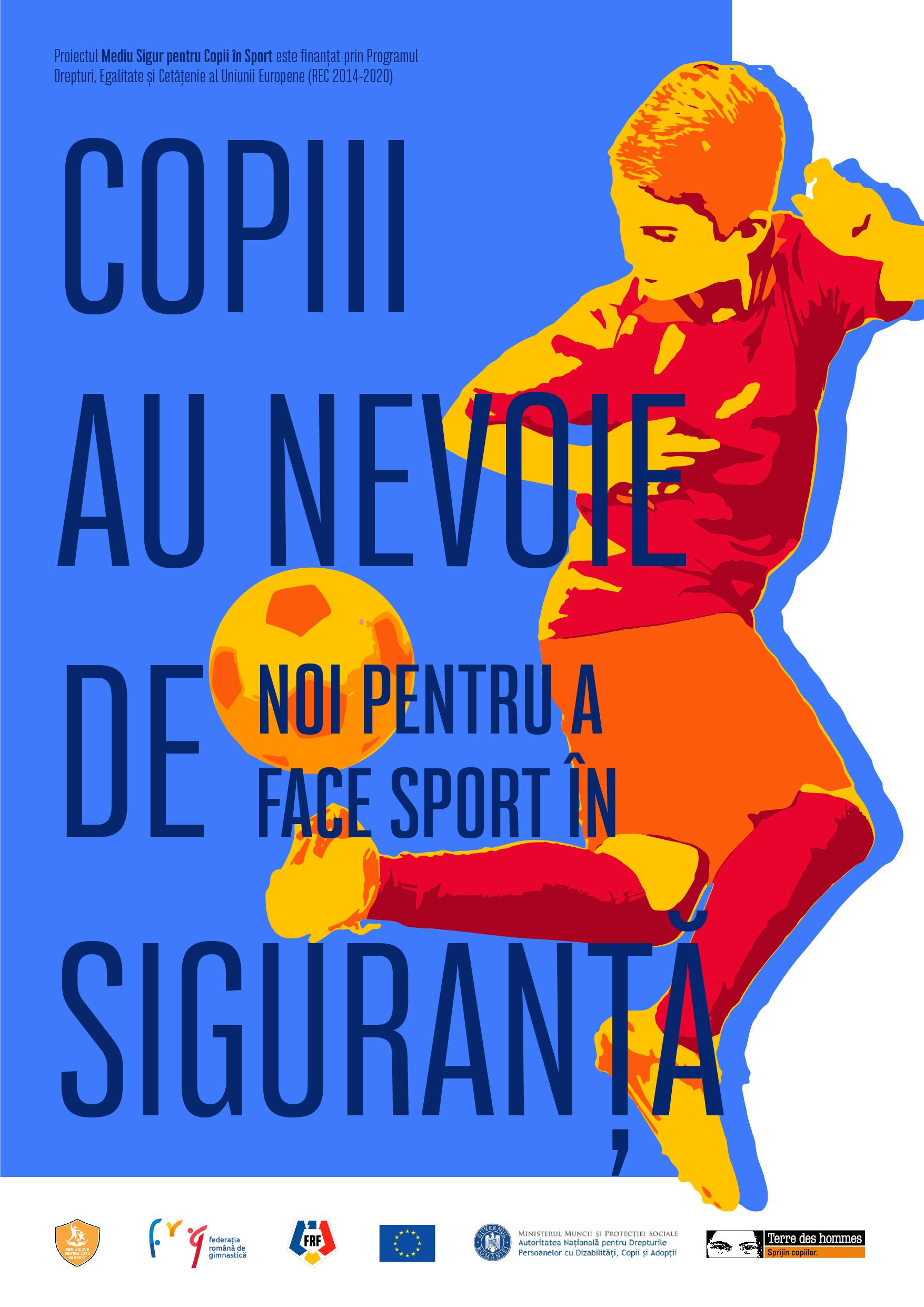 VIDEO: Fundația Terre des hommes România lansează clipul campaniei Mediu Sigur pentru Copii în Sport