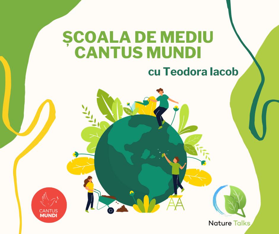 Cantus Mundi lansează proiectul digital ȘCOALA DE MEDIU