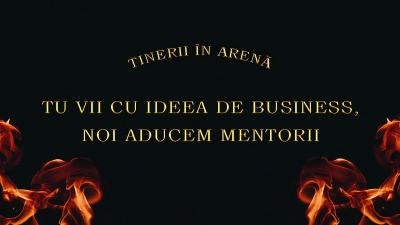 Tinerii își prezintă ideile de business  în fața antreprenorilor de top din România