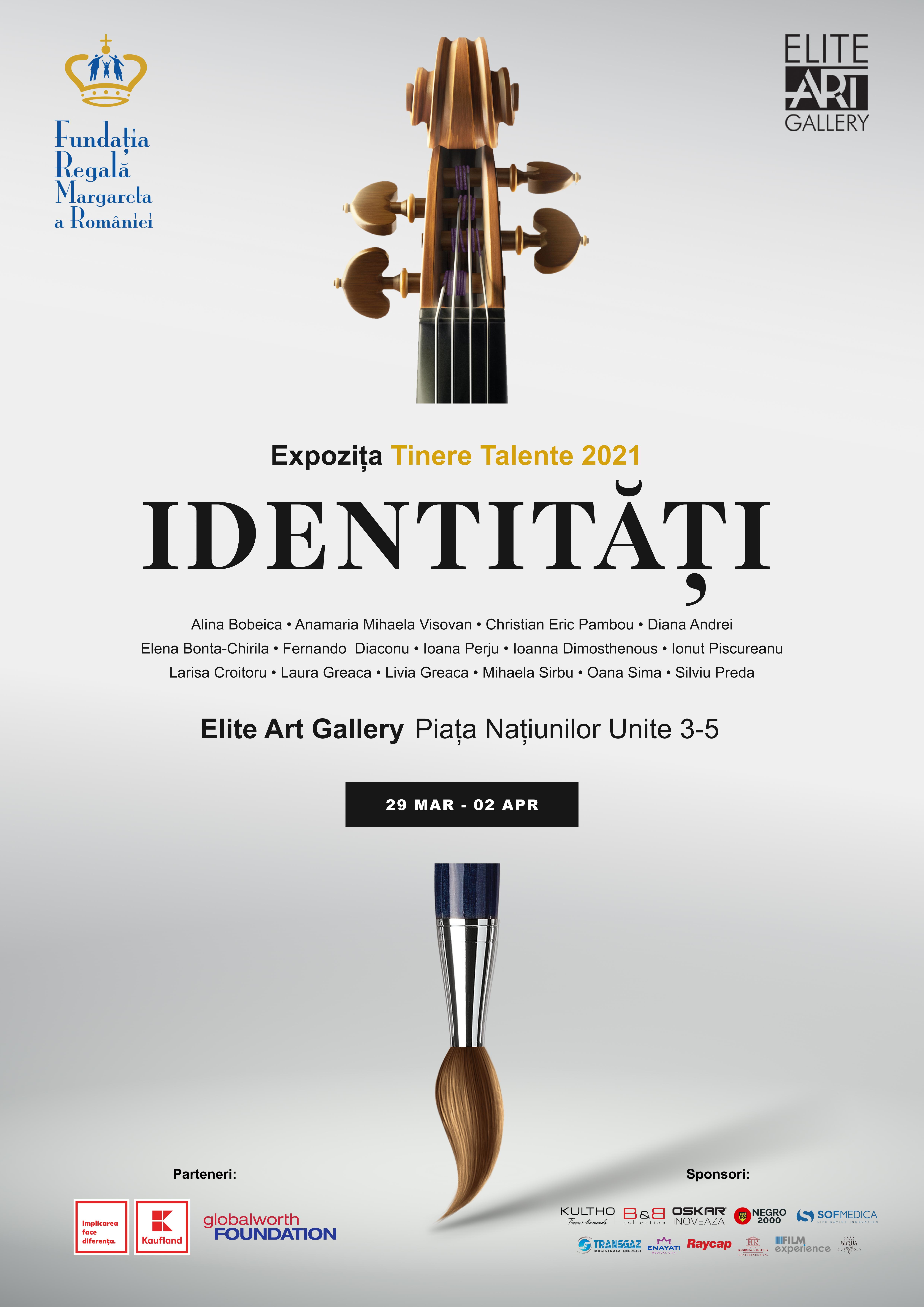 Bursierii Fundației Regale Margareta a României prezintă publicului prima expoziție de arte vizuale și un recital la Elite Art Gallery