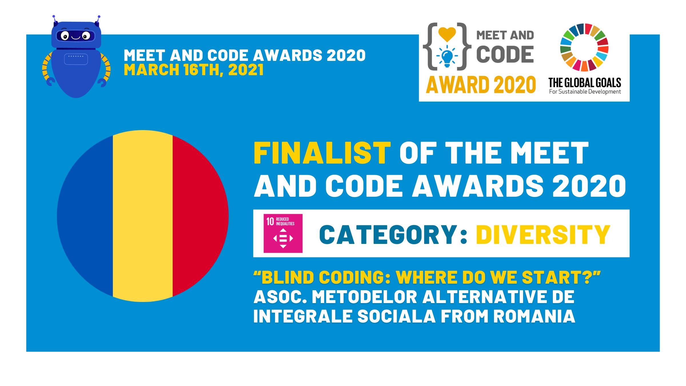 O organizație nonprofit din România este finalistă în cadrul Meet and Code - cel mai mare program european pentru tineri în domeniul competențelor digitale