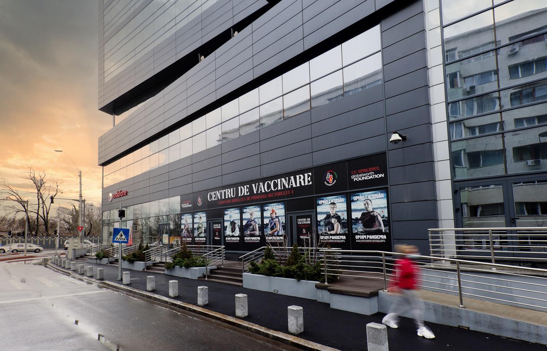 Primul dezvoltator imobiliar din România care oferă un spațiu de birouri pentru un centru de vaccinare anti-COVID