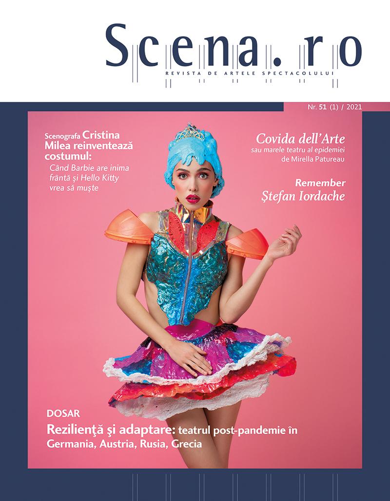 În al 13-lea an de apariție ediția în print a revistei Scena.ro devine interactivă