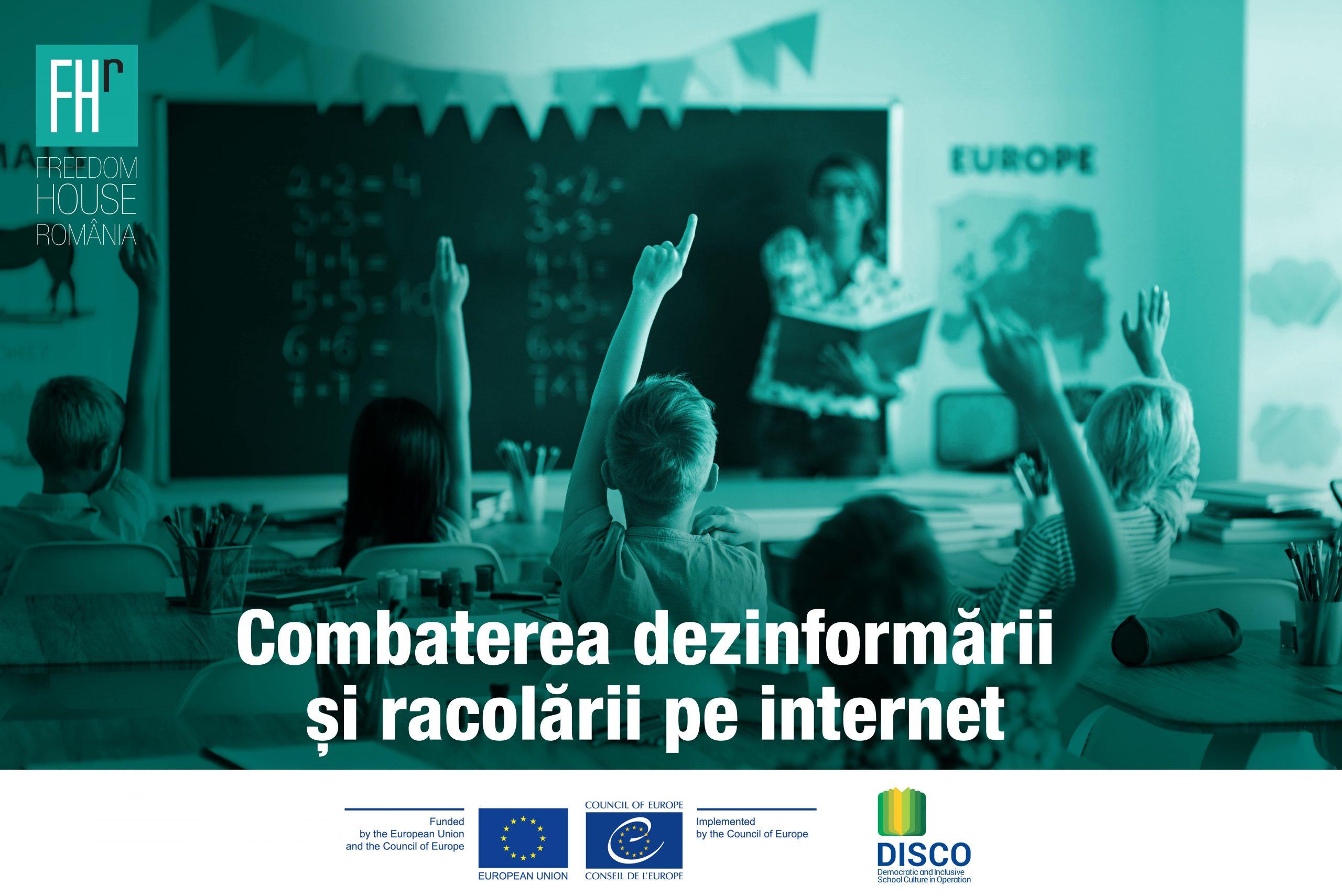 Freedom House România lansează un nou proiect privind combaterea dezinformării și a racolării online