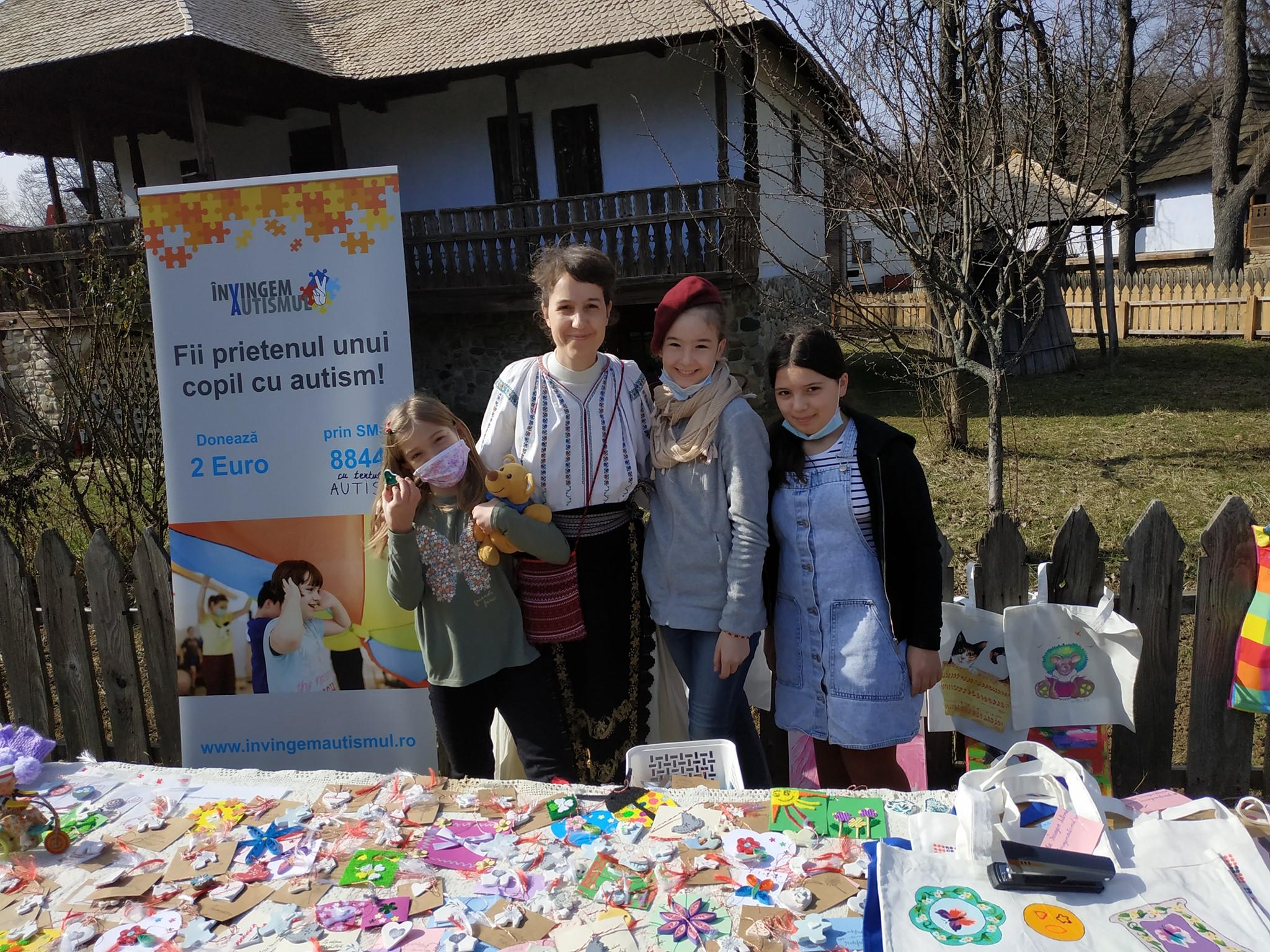 Un mărțișor - o șansă în plus de terapie pentru copiii cu autism