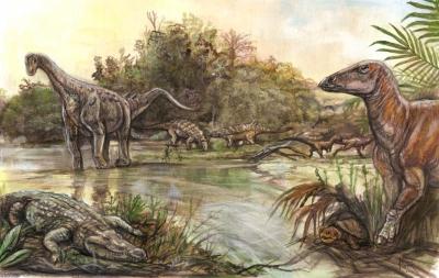 O hartă veche de un secol aduce dovezi excepționale ale vieții din Cretacic pe teritoriul Geoparcului Internațional UNESCO Țara Hațegului