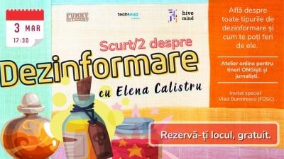 Infodemix: atelier scurt/2 despre dezinformare, pentru tineri