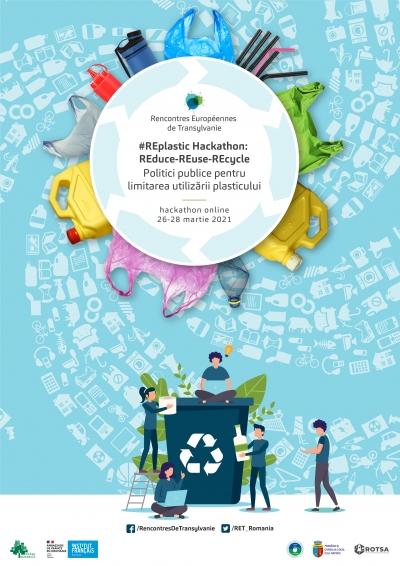 Întâlnirile Europene din Transilvania 2021 #REplasticHack: REduce-REuse-REcycle