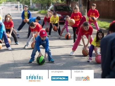 """Se lansează """"Sportul pentru toți"""", programul care pune în mișcare comunități din București și Brașov"""
