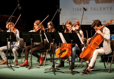 30 de tineri talentați, muzicieni și artiști vizuali,  au devenit bursieri ai programului național Tinere Talente 2021