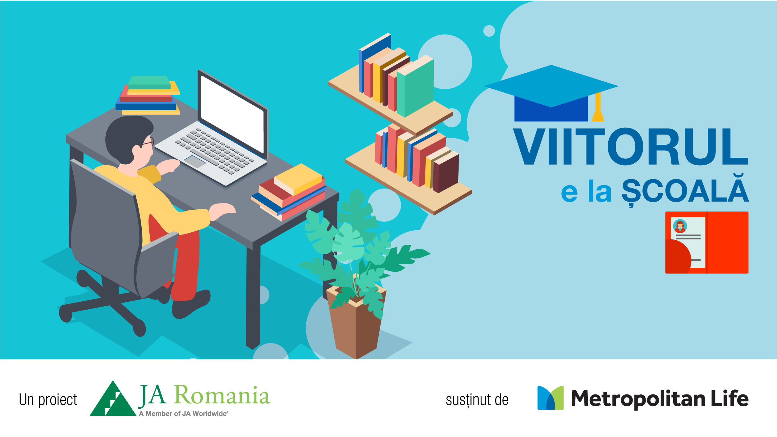 VIITORUL E LA ȘCOALĂ – proiect pentru școli și elevi din medii dezavantajate