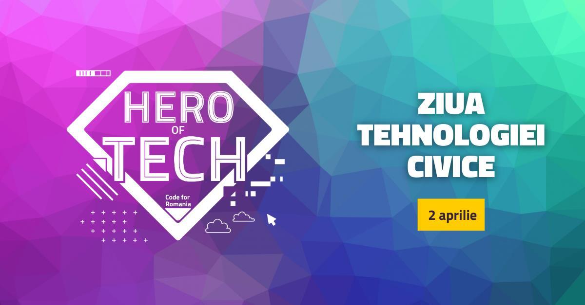 """Ziua Tehnologiei Civice sărbătorită în România cu un """"HackDay"""" aniversar care va dura 3 zile"""