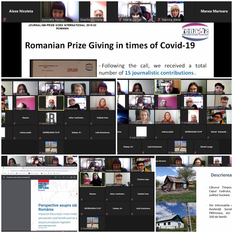 Workshopul Journalism Prize Goes International - o activitate de sensibilizare a opiniei publice cu privire la problematica sărăciei şi excluziunii sociale din România