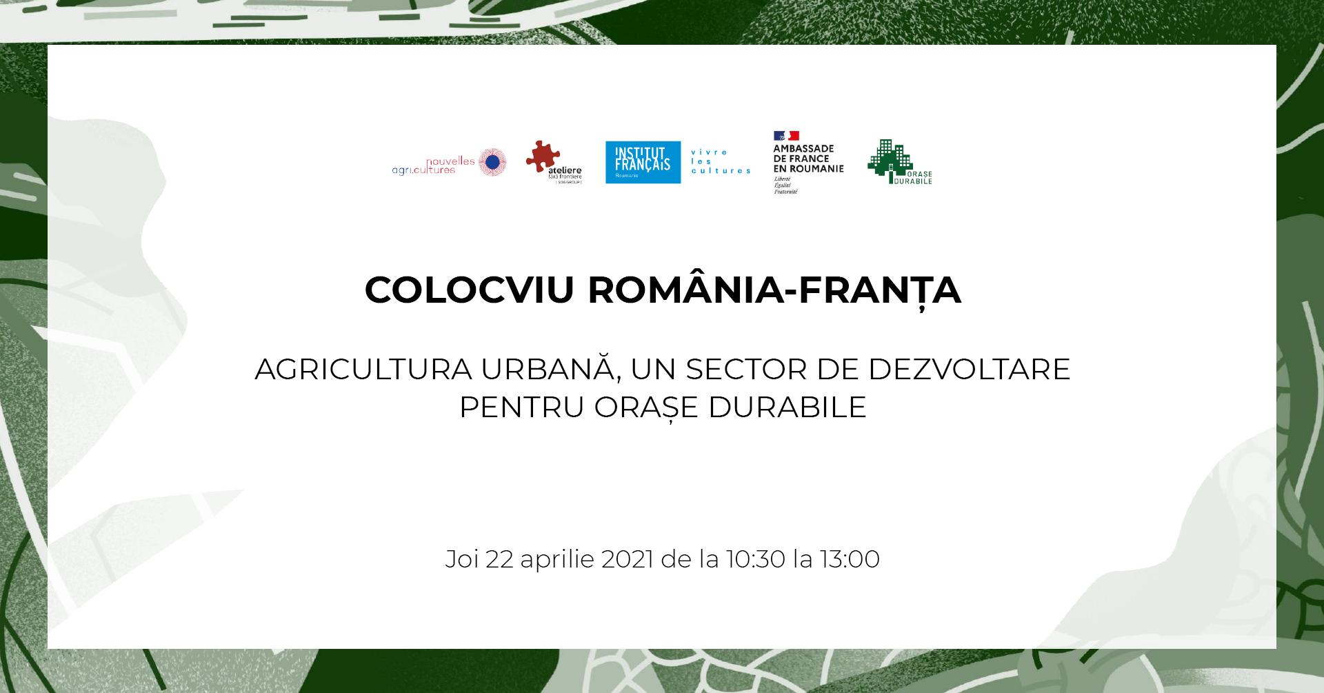 Agricultura urbană din perspectiva națională și internațională, într-o conferință pentru orașe durabile