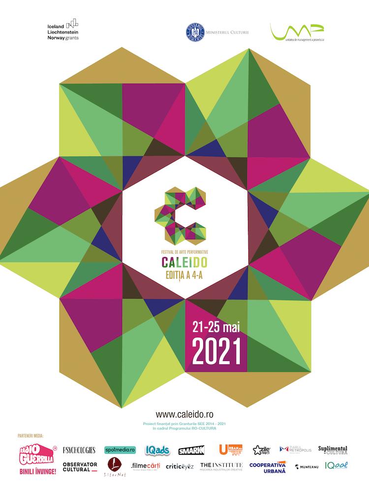 CALEIDO - festival multicultural de arte performative revine între 21-25 mai cu cea de-a patra ediție