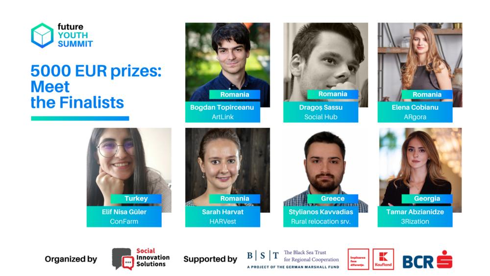 Premii de 5000 de euro pentru soluții de viitor la Future Youth Summit