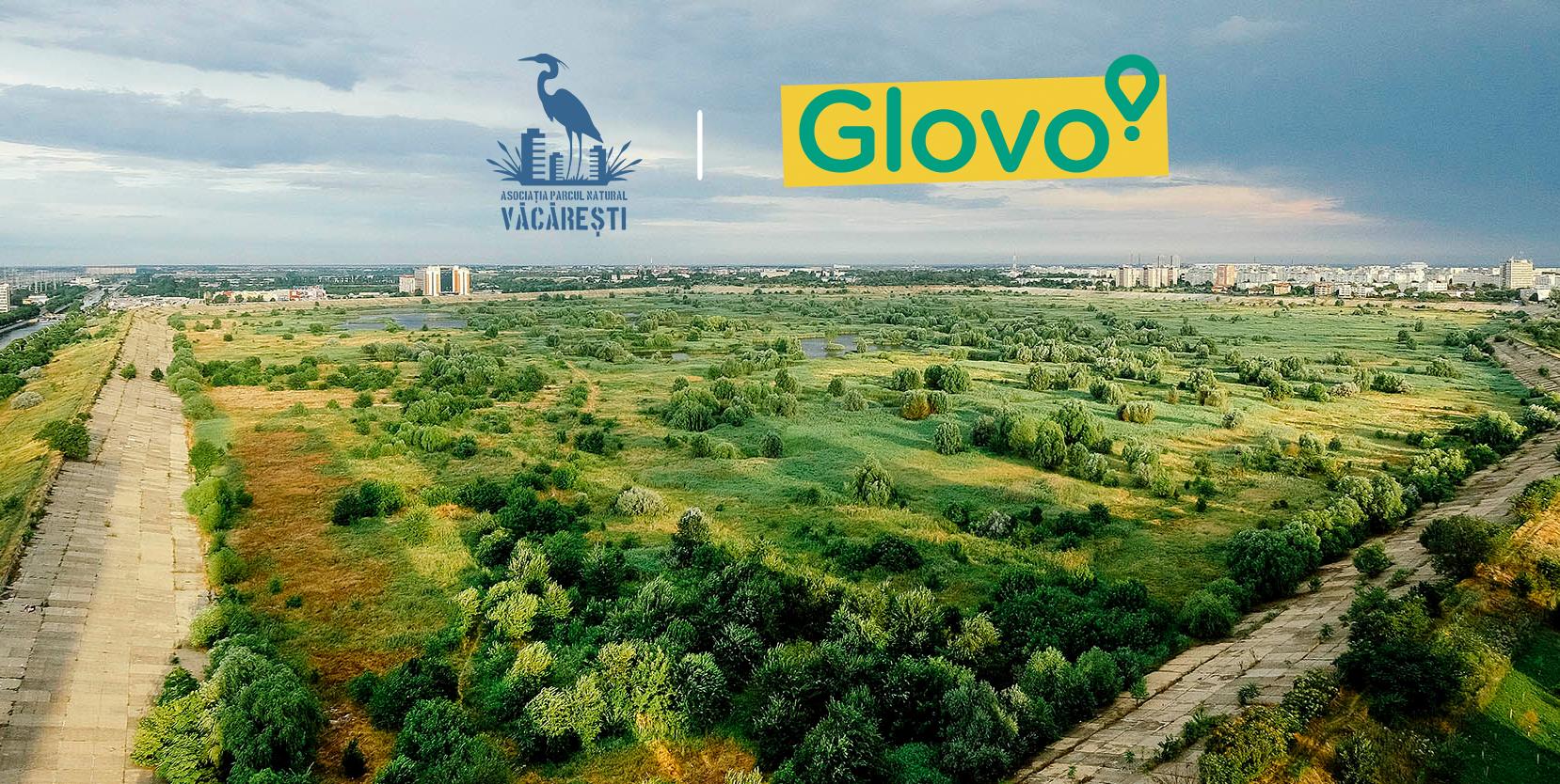 Glovo demarează un parteneriat cu Asociația Parcul Natural Văcărești și își propune să aibă, și la nivel local, amprentă de carbon neutră